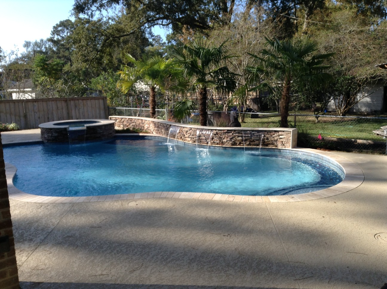 custom swimming pool contractor hammond, louisiana (201)