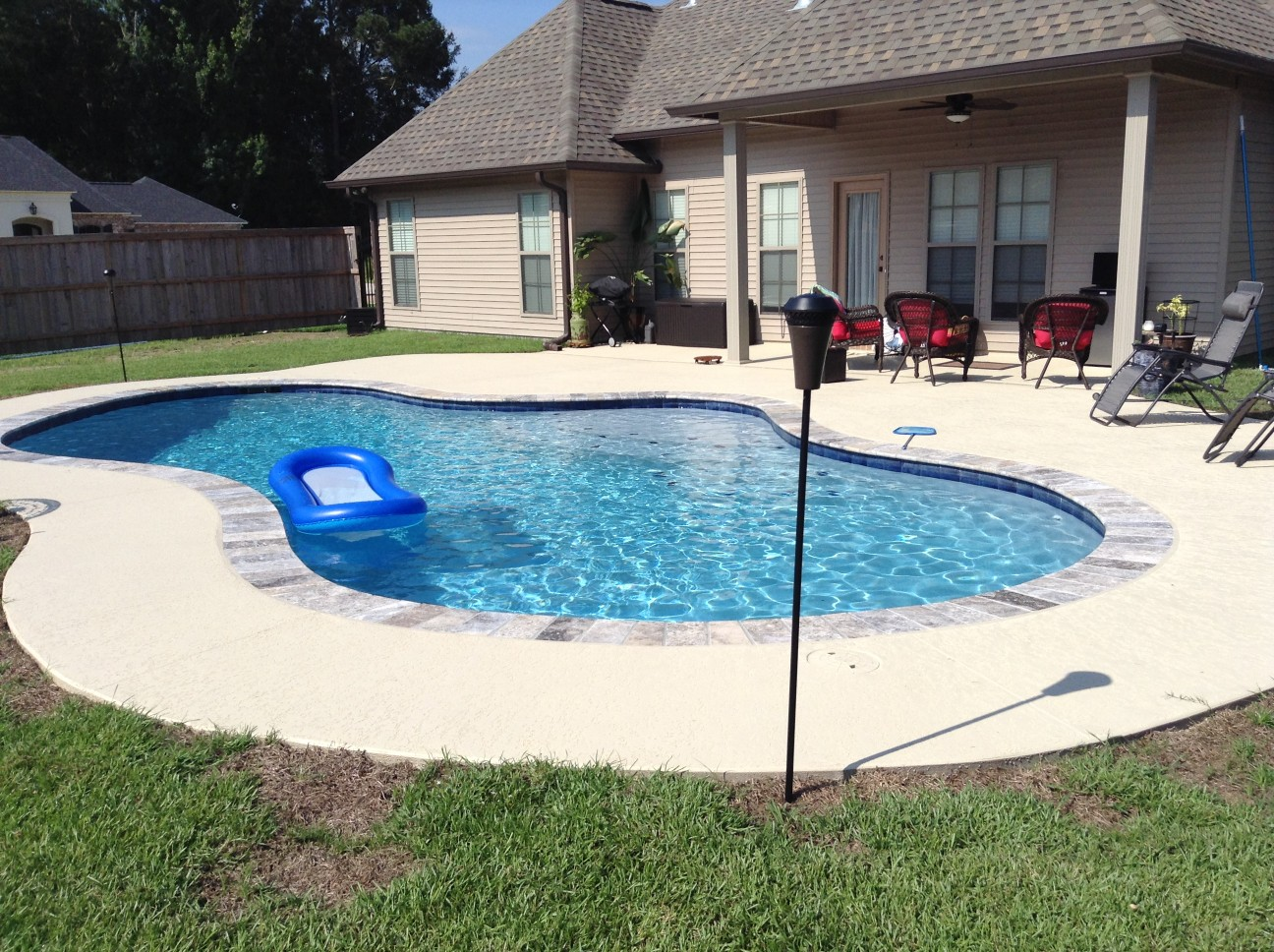 custom swimming pool contractor hammond, louisiana (232)