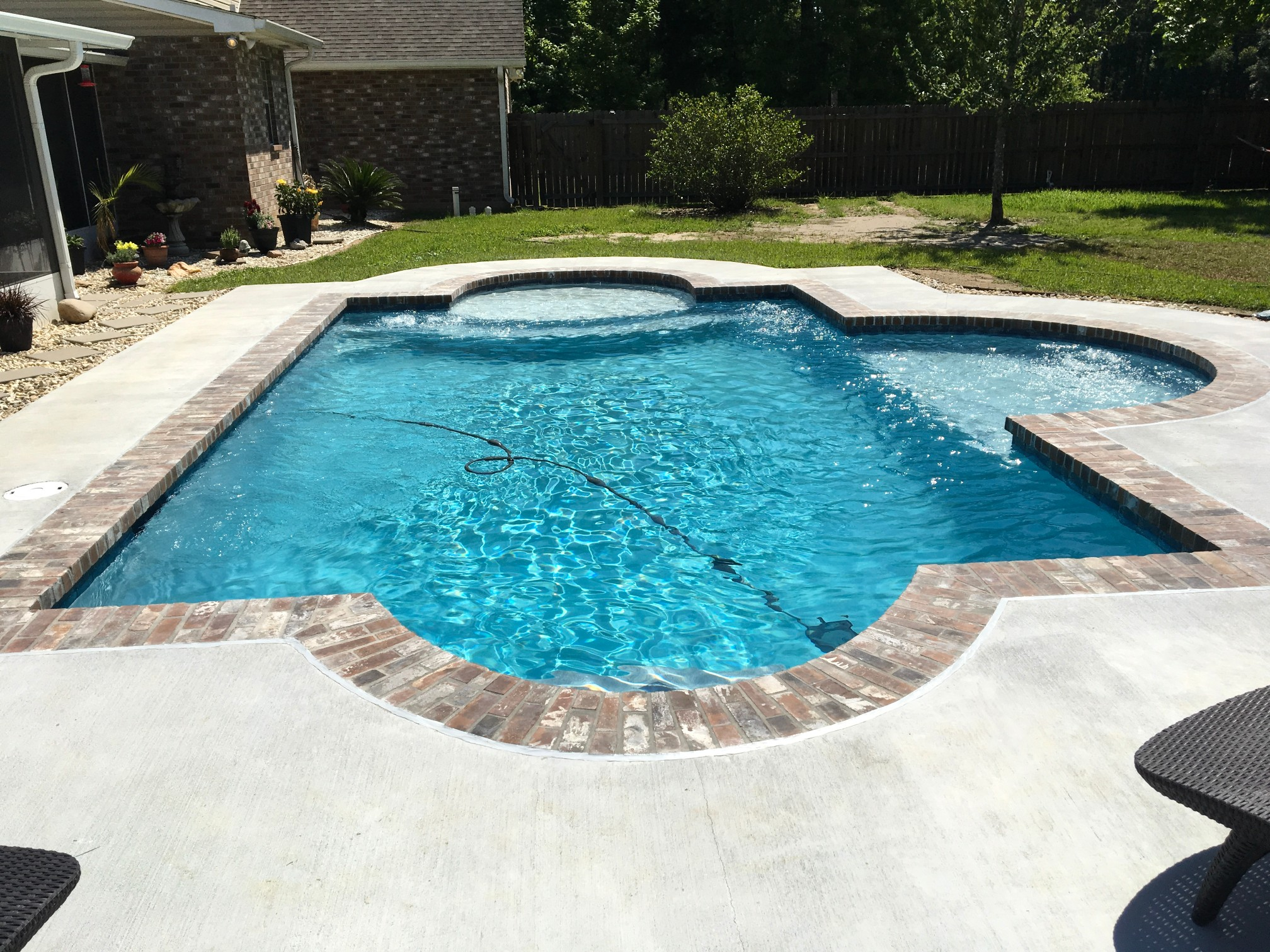 custom swimming pool contractor hammond, louisiana (250)