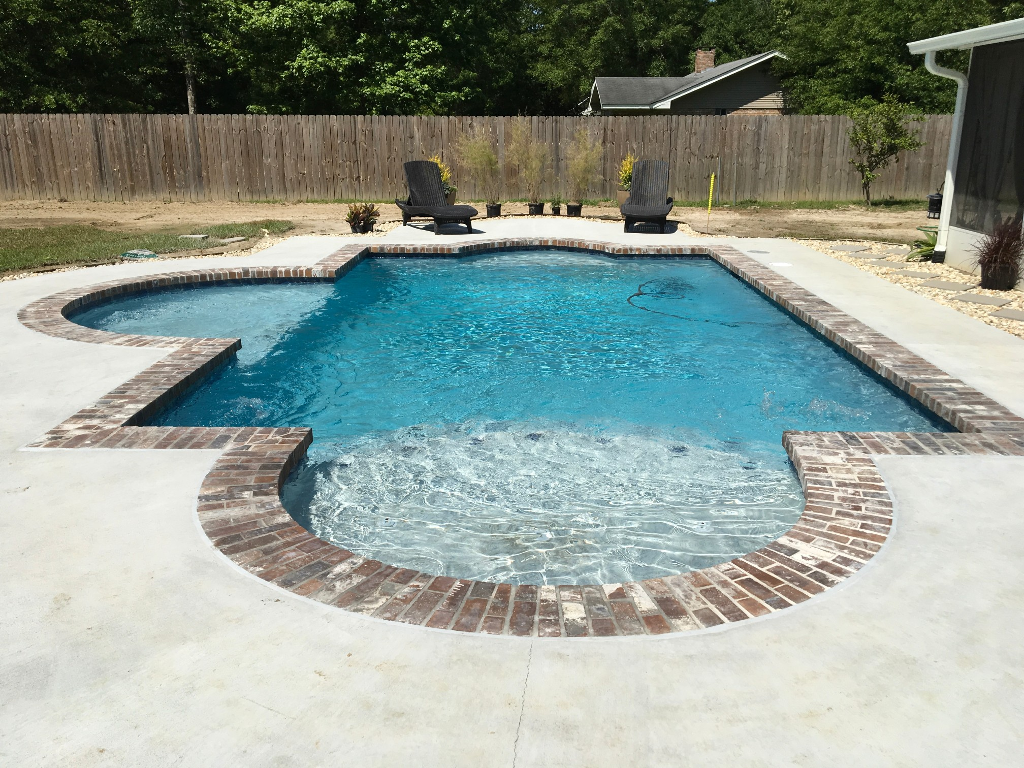 custom swimming pool contractor hammond, louisiana (252)