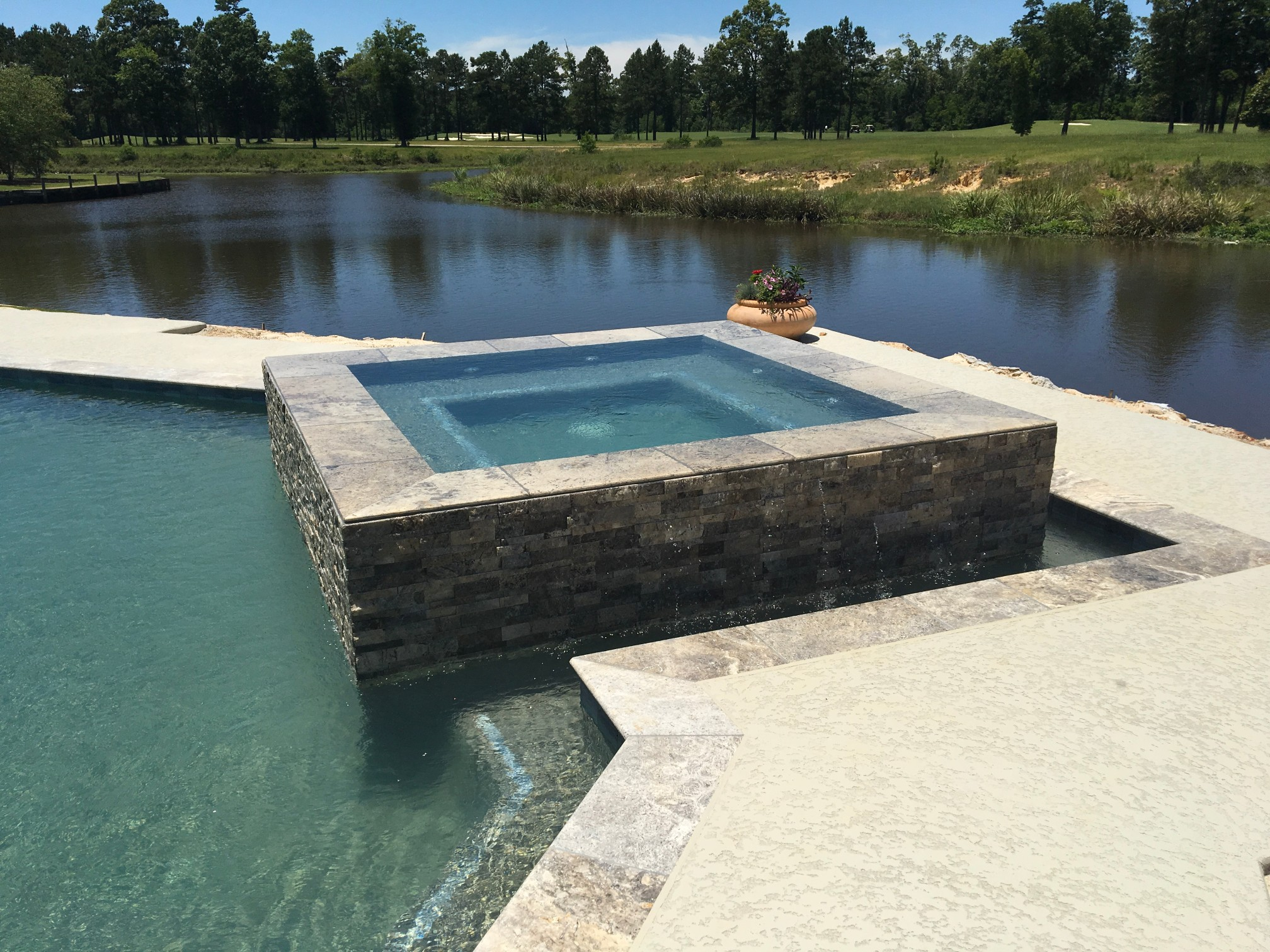 custom swimming pool contractor hammond, louisiana (254)