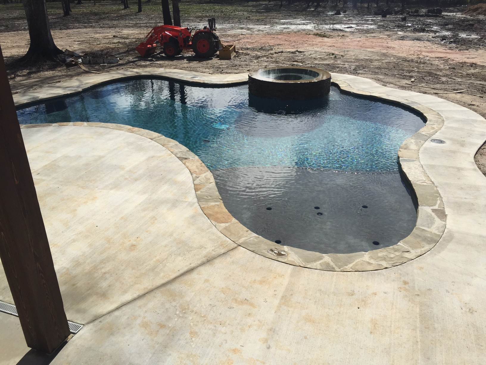 custom swimming pool contractor hammond, louisiana (280)