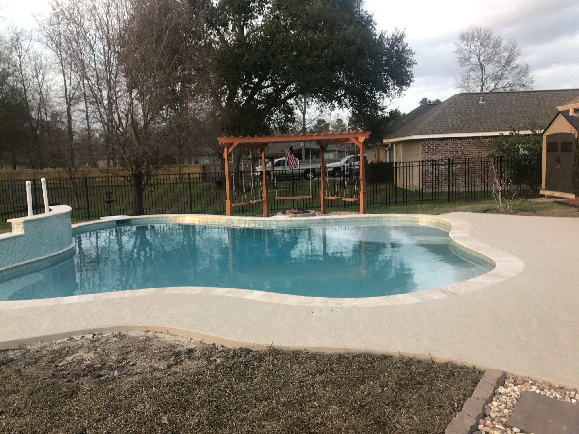 custom swimming pool contractor hammond, louisiana (320)