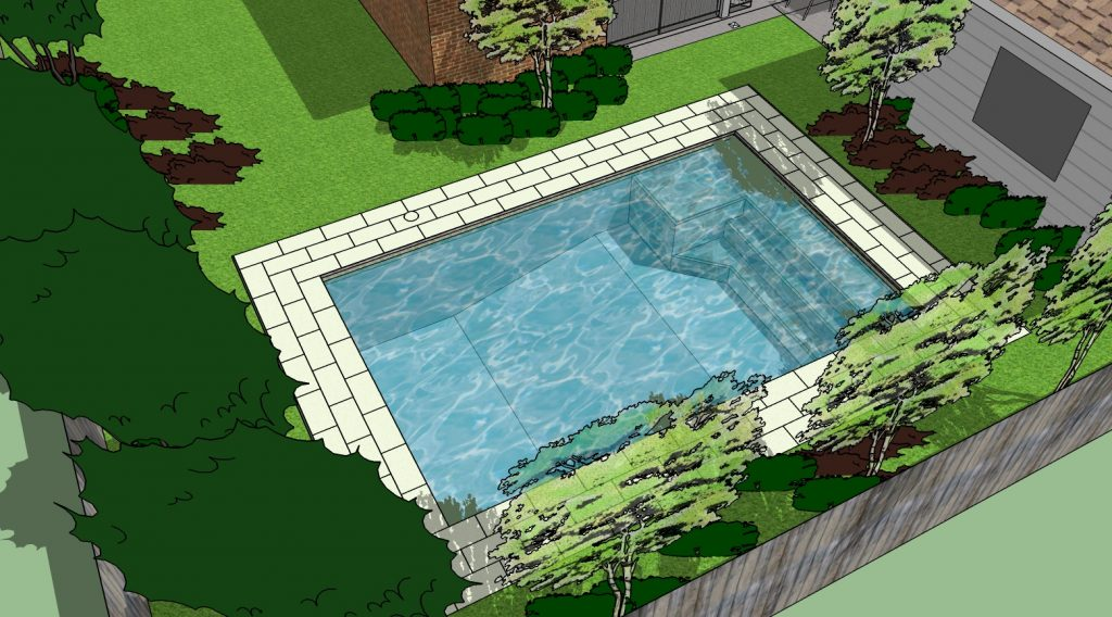 inground pool builder - freedom