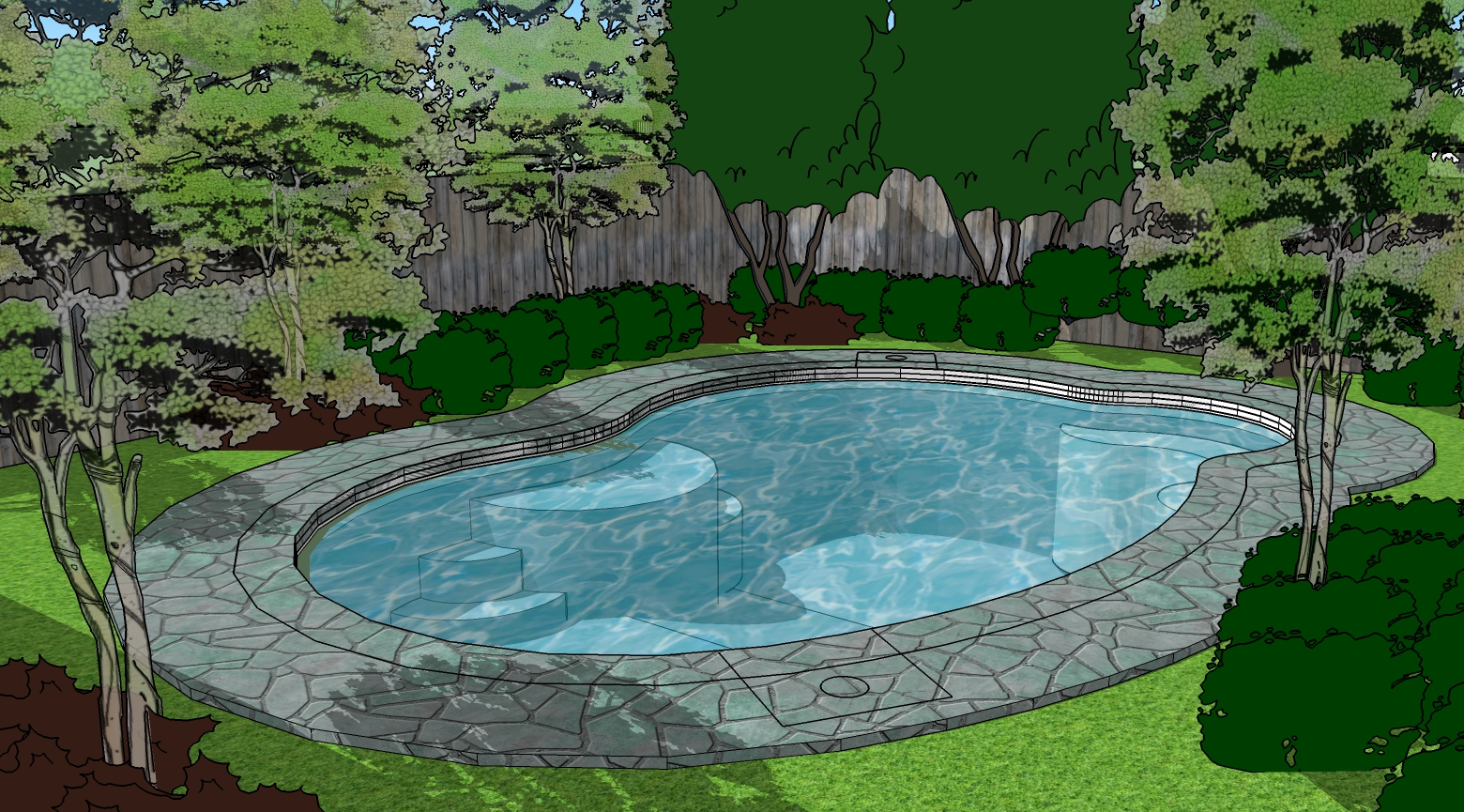 Affordable Inground Swimming Pools | Mystic Pools | Hammond ...