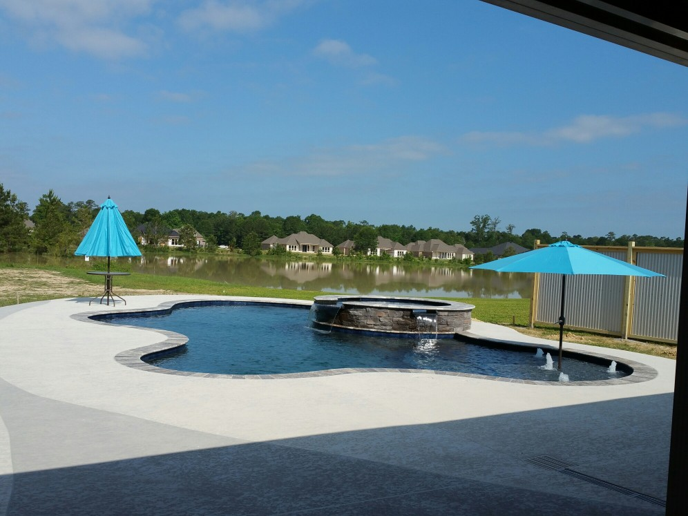 built-in pool contractors hammond, la