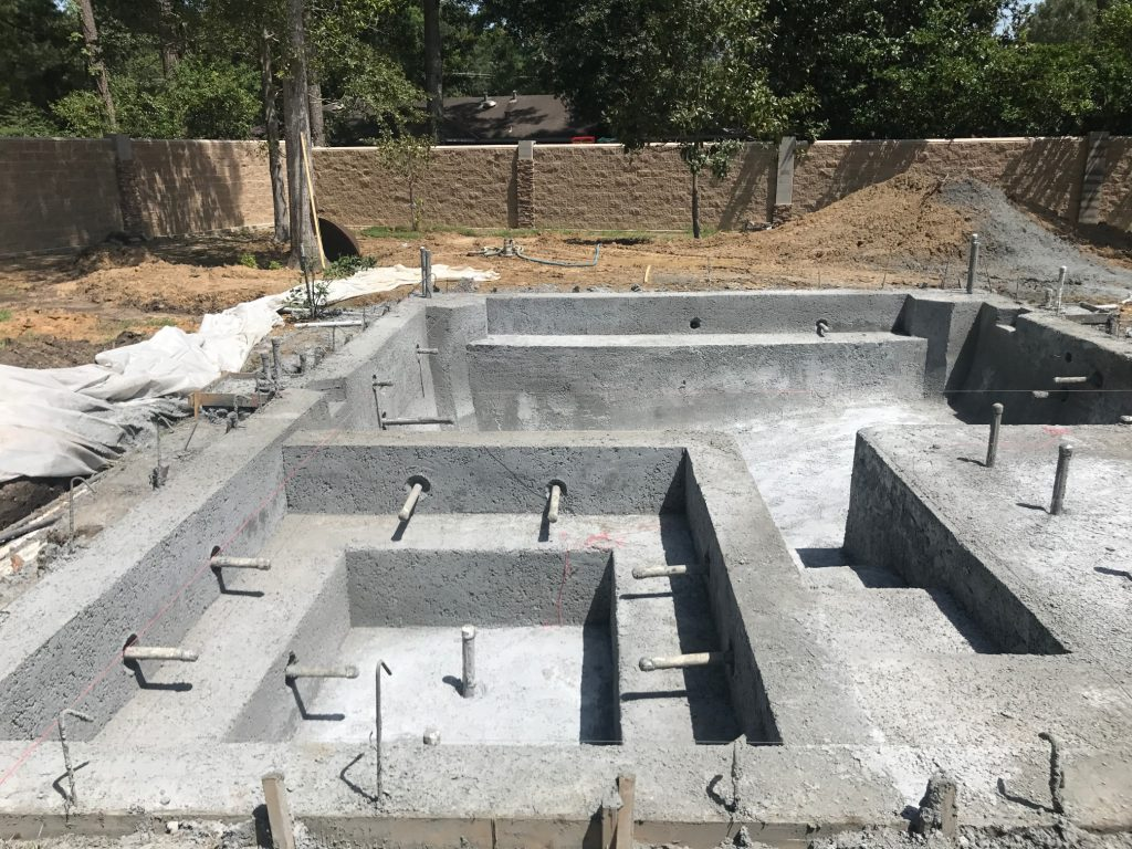 Construction services mystic pools hammond louisiana for Swimming pool construction services