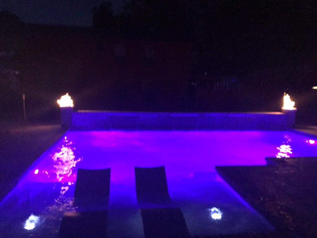 swimming pool led lighting hammond, la
